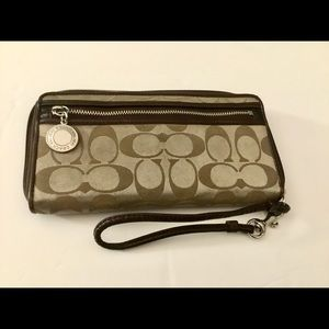 Coach Monogrammed Wallet